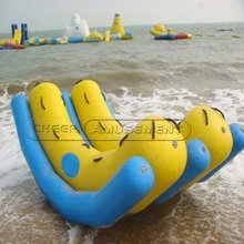 Cheer Amusemen Sports and Leisure Products Airtight inflatable float on water