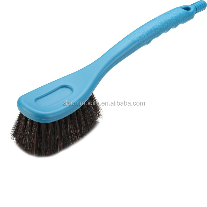 horse hair bristle flow-thru car wash brush
