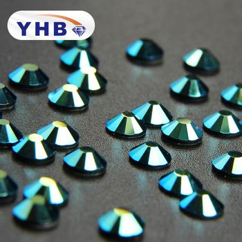 YHB non hot fix rhinestone nail art crystals stones crystal ...