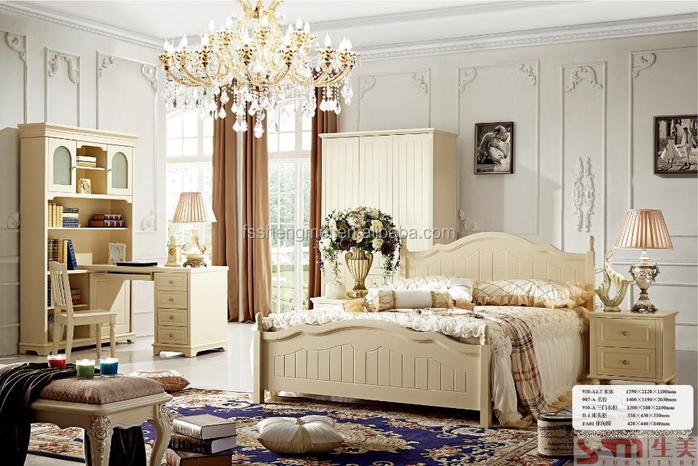 Alibaba mobili di lusso camera da letto in legno italiano set ...