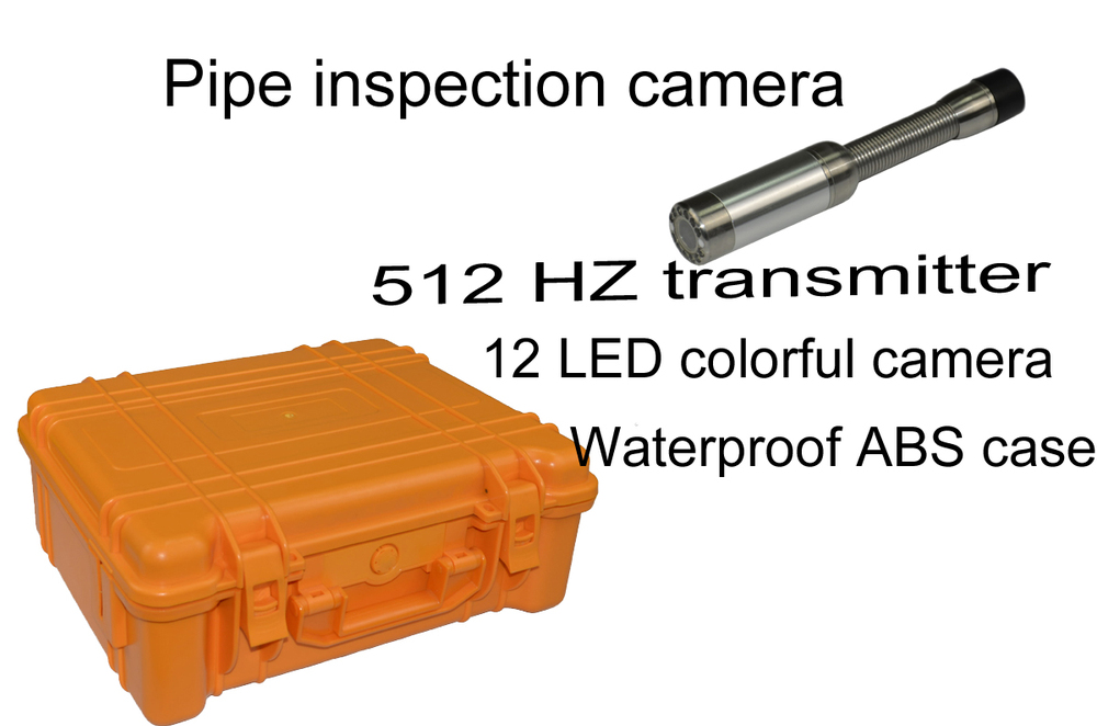 professional factory of pipe video inspection with 512 hz transmitter