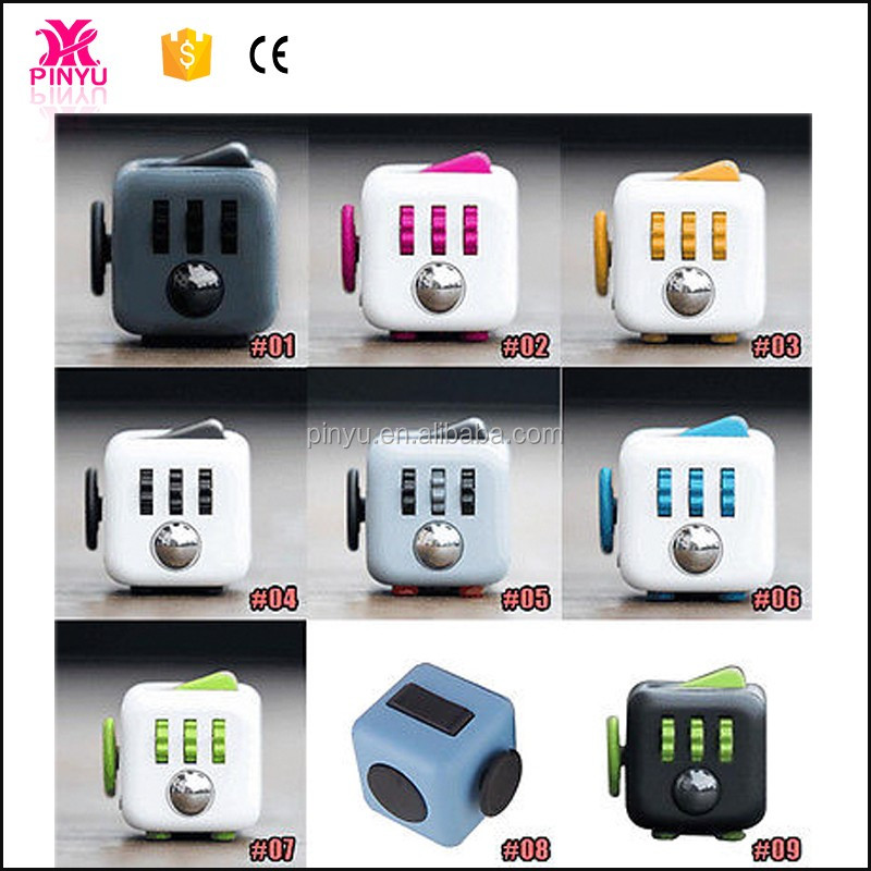 In Stocking Dhl Shipping Relieves Stress Magic Fidget Cube As ...