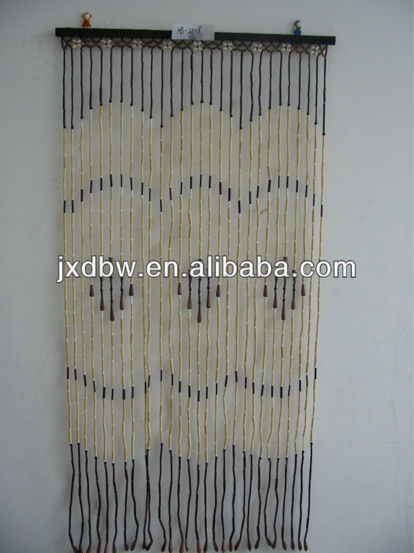 String Thread Bamboo Outdoor Curtain