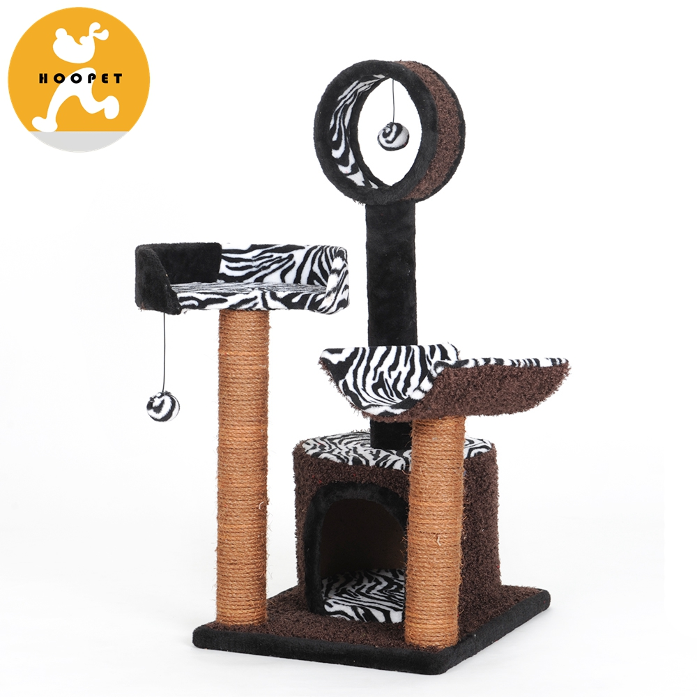 Coffee Cat Scratching Tree Wholesale Modern Cat Toys Furniture