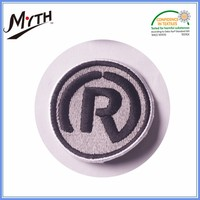 Cheap embroidery patches for blouses,sports shoes custom embroidered patches designs and self-adhesive embroidery patch