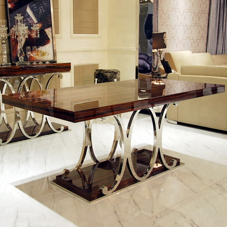 New Classic Modern Dining Room Sets Design Luxury Dining Table And Chair -  Buy Dining Table And Chair,Dining Room Sets,Luxury Dining Set Product on ...