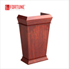 Top grade wood speech desk/lecture table/podium/rostrum(FOH-J08)