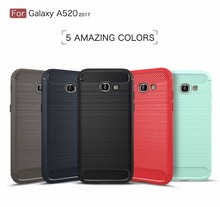 New Arrival TPU Soft Case For Samsung A5 2017 A520 A520F Back Cover Protect Housing