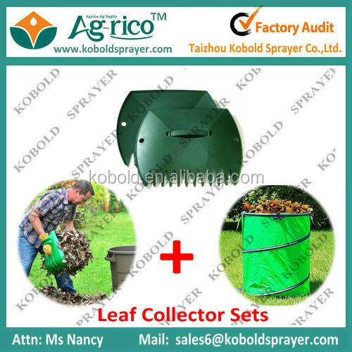 Collapsible garden bag and Hand Garden leaf scoops
