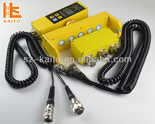 Asphalt Paver Control System with ultrasonic, laser and slope