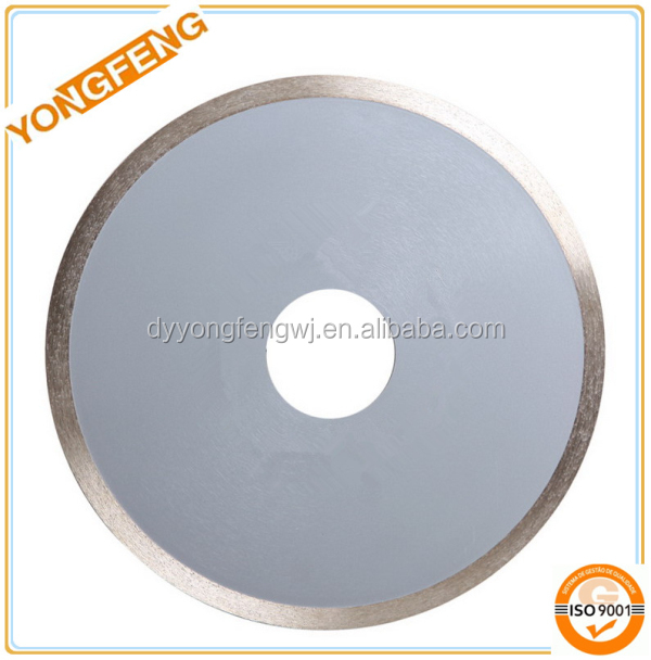continuous rim diamond saw blade for cutting ceramic,concrete,marble,granite and asphalt
