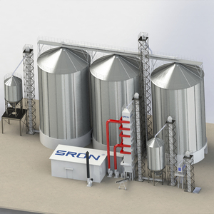 Good Price low Cost wheat Corn Maize Stainless Steel Grain Storage Silo on sale