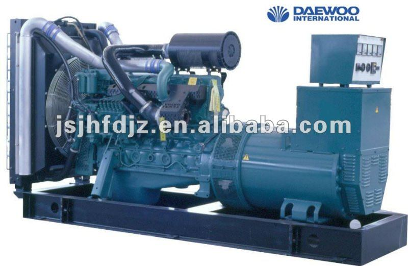 Korea Daewoo 650kw generator suppliers