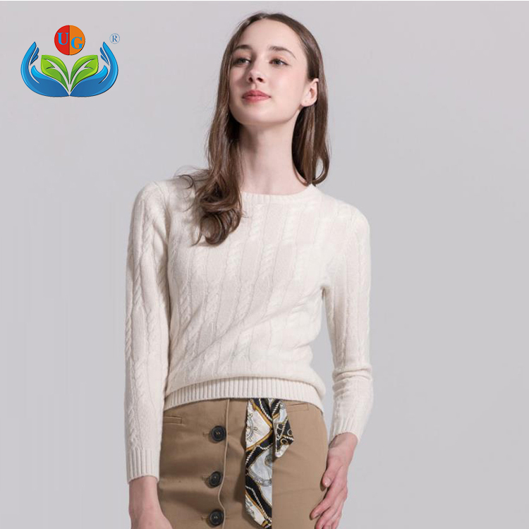 New Arrival fashion style soft women pullover 100% cashmere sweaters