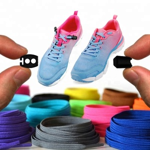 Crazy No Tie Shoe laces ,Flat Elastic Shoe Laces with Adjustable Tension Slip-On Any Shoes