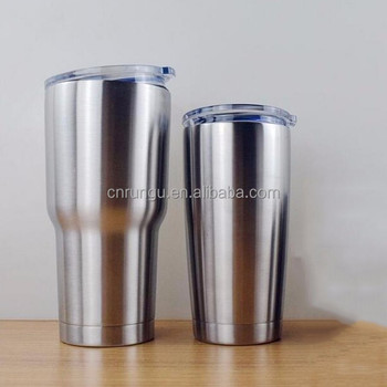 Double Wall 20oz 30oz Stainless Steel Tumbler Wholesale With Clear