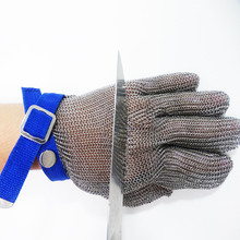 Anti Cut Stainless Steel Chainmail <span class=keywords><strong>Sarung</strong></span> <span class=keywords><strong>Tangan</strong></span> untuk Daging