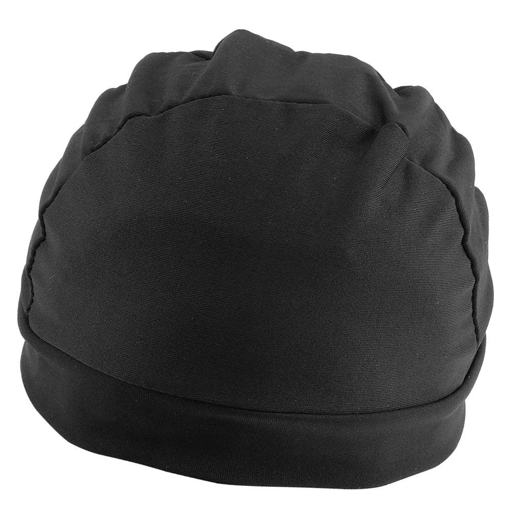b546f2e04ce Get Quotations · Dovewill Black Spandex Dome Cap Mesh Hair Net for Making  Wigs Snood Stretchy Wig Cap