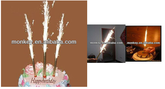 Stick Birthday Candles Decorative For Cake 30 Sec Candle Fireworks