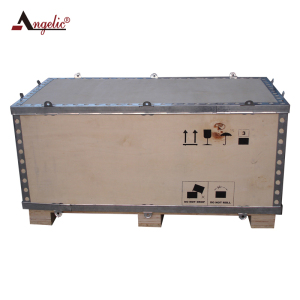 Angelic Customized Foldable Crate With Wood Box For Dangerous Goods Shipping