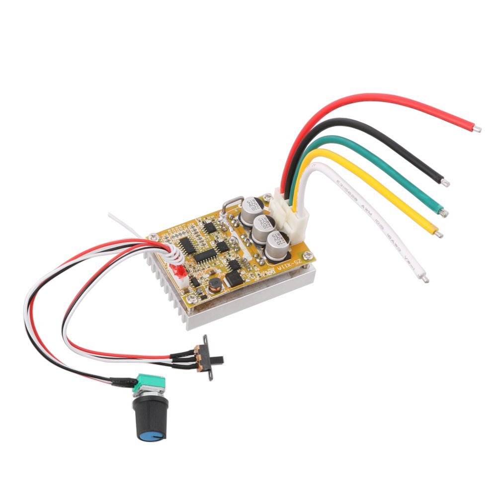 Cheap Bldc Driver Schematic Find Deals On Wiring Diagram 350w Get Quotations Lyws Dc 6v 50v 380w Brushless Motor Controller Normal Reverse Pwm Control