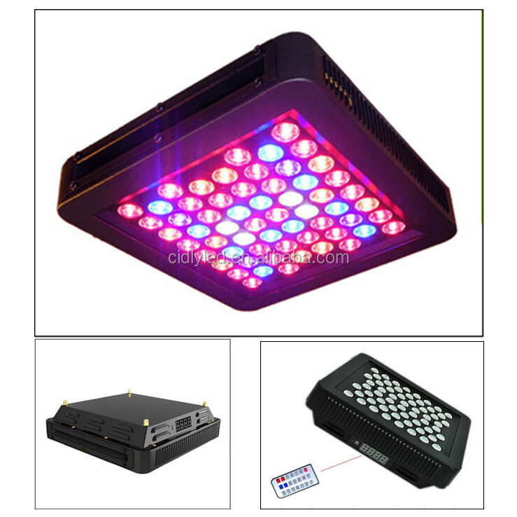 Programmable LED Grow Lights 120W 7-Band Panel Hydroponic Plant Lamp Veg Flowering 3W LEDs Garden House
