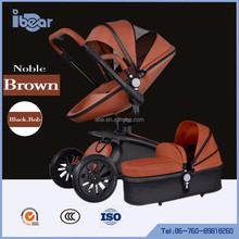 baby stroller 3-in-1 with carseat and carrycot