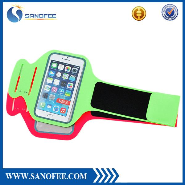 More colors gym flexiable mobile phone holder sports armband for htc one