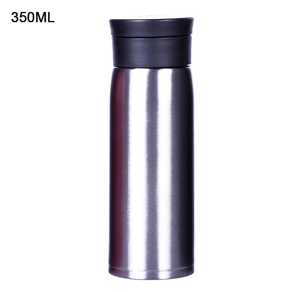 d61c22f891 Get Quotations · Insulated Vacuum Water Bottle, 304 Stainless Steel Mug Cup  Thermos Cup BPA Free Leak Proof