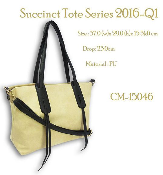 Succinct Tote Bag with Long Shoulder Strap