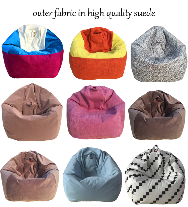 2017 Hot Teardrop Bean Bag Cover Lazy Sofa Chair