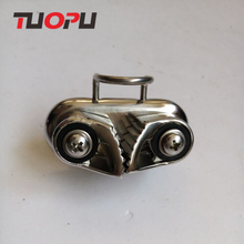 316 Stainless Steel Tali Cam <span class=keywords><strong>Cleat</strong></span> Tali Laut Klem untuk Dijual