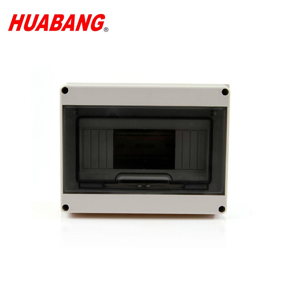 IP54 ABS PC meter circuit breaker din rail enclosure water proof distribution Box