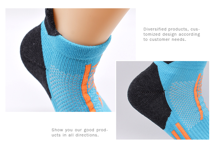 Fancy Polyester Nylon Multifunctional Cycling Happy Mens Funky Cushion Elite Basketball Ankle Socks For Sports