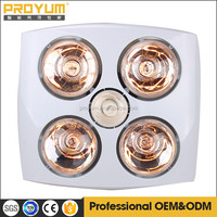 Electric Ceiling Mounted Bathroom Heater With Fan Light 3 In ...