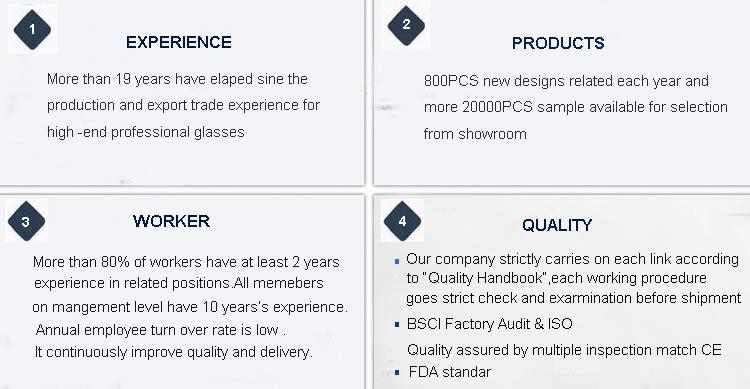 Saham Kacamata ODM Optik Desain untuk Wanita Tontonan Frame Kacamata