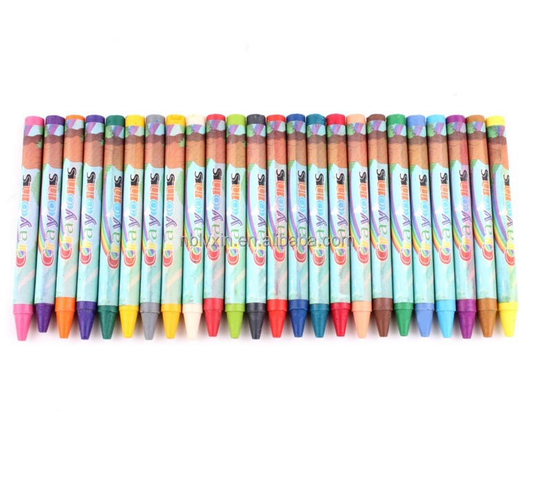 24 color crayon is to give children the best gift, non-toxic