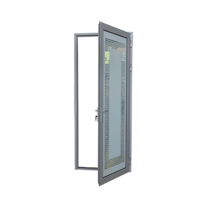 European Style Aluminium French Door Security Steel Mesh Screen Door Interior Aluminum Double Swing Door