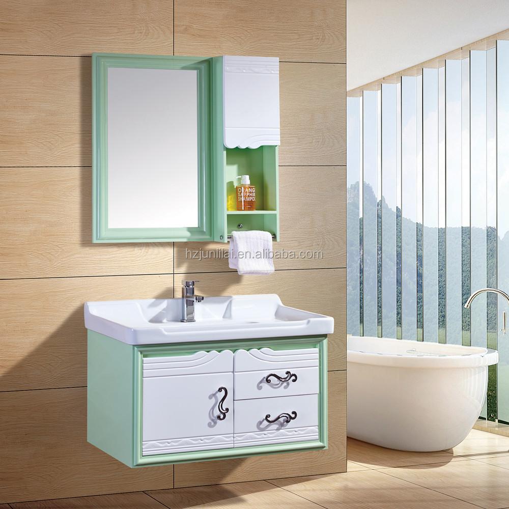 Plywood Almirah Design Holder Basin High Gloss Bathroom Vanities Vanity Er Price Cabinet Commercial Product On