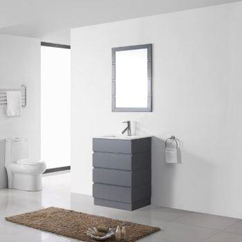 2019 North Europa Moderne Lagen Holz Bad Eitelkeit Grau Schrank Mit  Niedrigem Preis - Buy 2019 North Europa Bad Schrank,Moderne  Badezimmer-eitelkeit ...