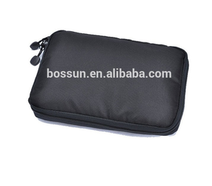 New Style Multifunctional Ipad Storage Bags Digital Zipper Ipad Storage Organizer