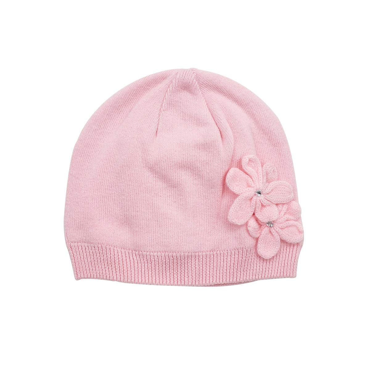 1d307573dcfc7 Get Quotations · LLmoway Kids Beanie Baby Infant Toddler Girls Soft Cotton  Warm Knit Hat