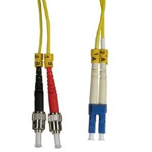 Arrowmounts AM-FOJ2867 Fiber Optic Jumper 1M LC-St Duplex Singlemode 9/125 Fiber Optic Cable