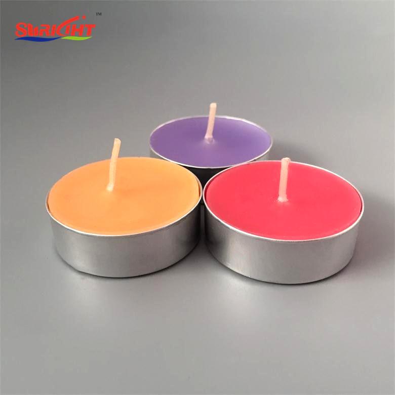 Flameless Red 4 Hour Tea Light Candles
