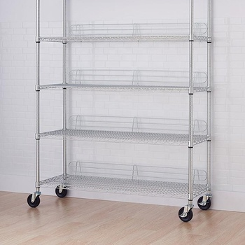 Smt 5 Tier Chrome Plated Single Peak Cable Reel Storage Rack   Buy Cable  Reel Storage Rack,Rolling Storage Cart,Movable Storage Carts Product On ...