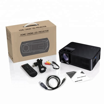 2de98e4af0eac1 Smart Native 720P WiFi LED Projector with Youtube Miracast Airplay for Wireless  Phone Connection