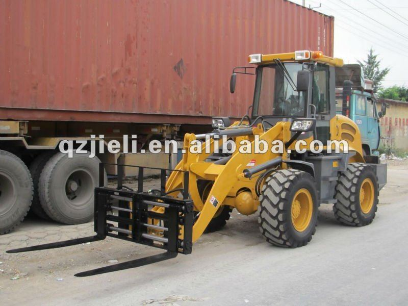 pallet fork wheel loader zl18