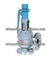 Stainless steel flanged safety valve pn16 /spring loaded safety valve