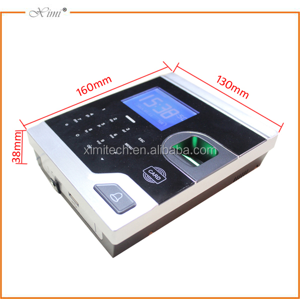 TCP/IP Facial & RFID Reading Time Clock And Access Control System