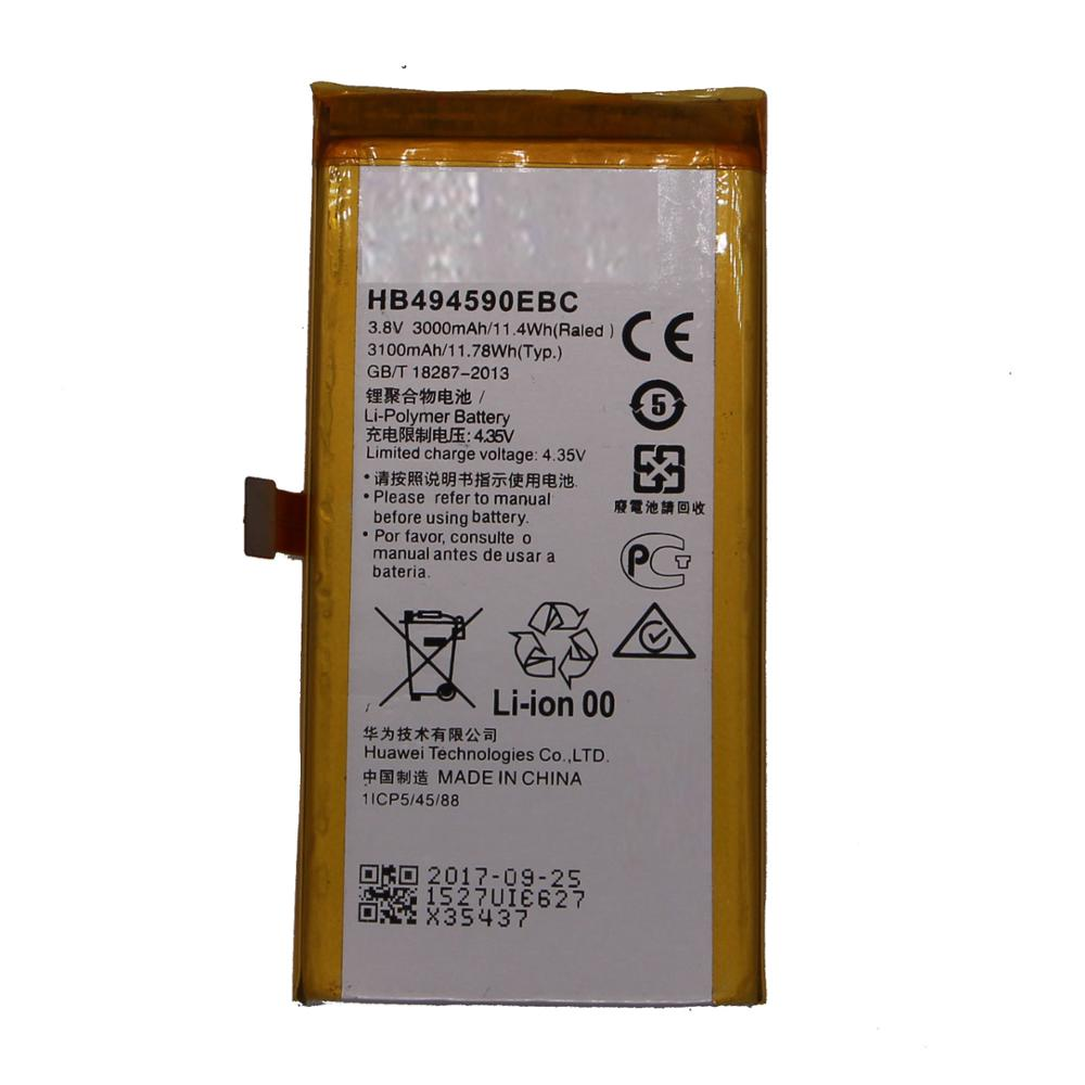 G628 Polymer Lithium Ion Rechargeable Mobile Battery For Cell Phone Hua-wei Honor 7 Plk-al10 3.8v 4.35v Li hb494590ebc